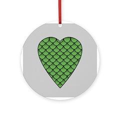 Midrealm Dragon's Heart (silver grey)