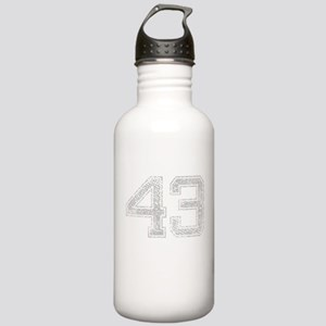 43, Grey, Vintage Stainless Water Bottle 1.0L
