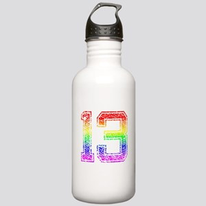 13, Gay Pride, Stainless Water Bottle 1.0L