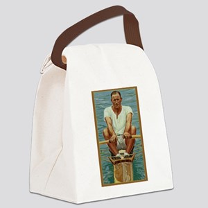 The Rower Canvas Lunch Bag