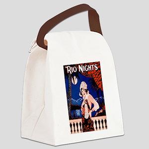 Rio Nights Canvas Lunch Bag