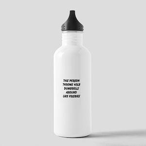Throw Dumbbells Stainless Water Bottle 1.0L
