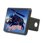 Flying boar Rectangular Hitch Cover