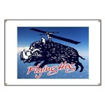 Flying boar Banner