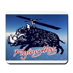 Flying boar Mousepad