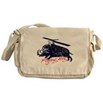 Flying boar Messenger Bag