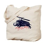 Flying boar Tote Bag