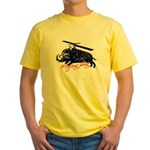 Flying boar Yellow T-Shirt