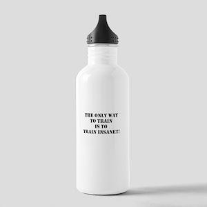 Train insane (beastmode) Stainless Water Bottle 1.