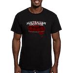 Australian Fighter Men's Fitted T-Shirt (dark)