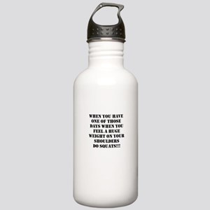 Squat the world Stainless Water Bottle 1.0L