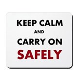 Safety manager Classic Mousepad
