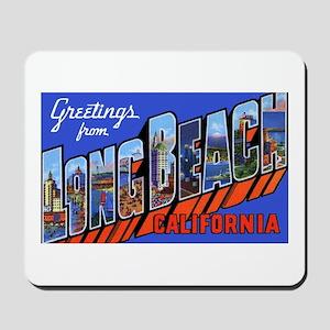 Long Beach California Mousepad