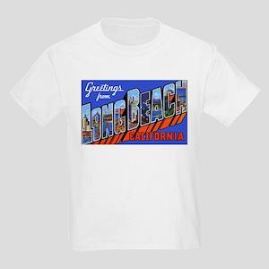 Long Beach California (Front) Kids T-Shirt
