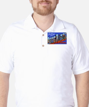 Long Beach California Golf Shirt
