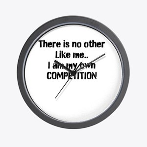 My own competition Wall Clock
