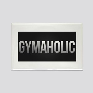 Gymaholic Rectangle Magnet