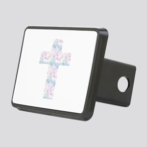 Pastel Cross Rectangular Hitch Cover