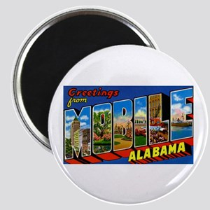 Mobile Alabama Greetings Magnet