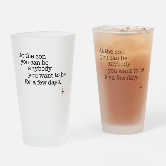 At the con Drinking Glass