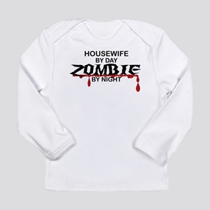Housewife Zombie Long Sleeve Infant T-Shirt
