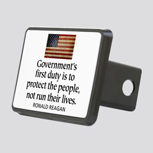 Governments first duty Rectangular Hitch Cover