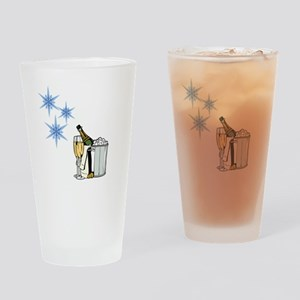 a Toast Drinking Glass