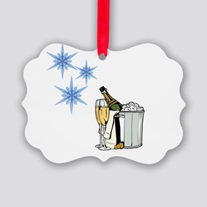 a Toast Picture Ornament