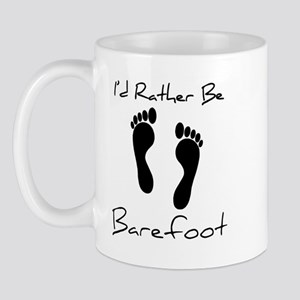 I'd Rather Be Barefoot Mug