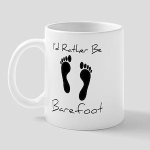 I'd Rather Be Barefoot Mug