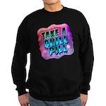 Take A Chill Pill Sweatshirt (dark)