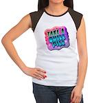 Take A Chill Pill Women's Cap Sleeve T-Shirt