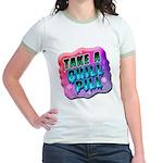 Take A Chill Pill Jr. Ringer T-Shirt