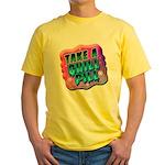 Take A Chill Pill Yellow T-Shirt
