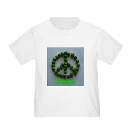 Peas (Peace) Toddler T-Shirt