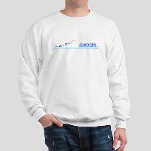 Swimmer (Boy) Blue Suit Sweatshirt