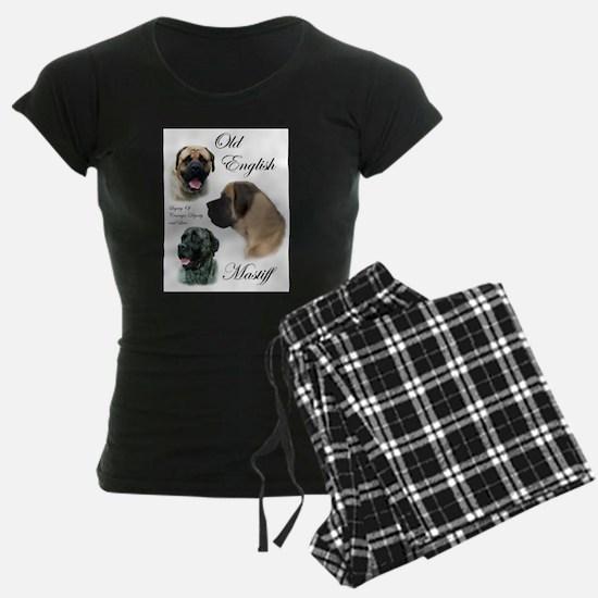 mastiff trio brushed 3.png Pajamas
