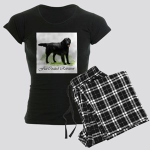 pd flatcoat square 2 Women's Dark Pajamas