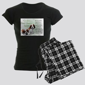Cavalier King Charles Women's Dark Pajamas