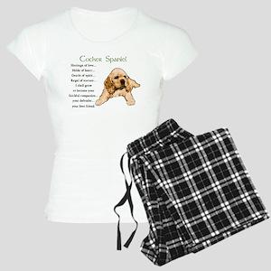 Cocker Spaniel Women's Light Pajamas