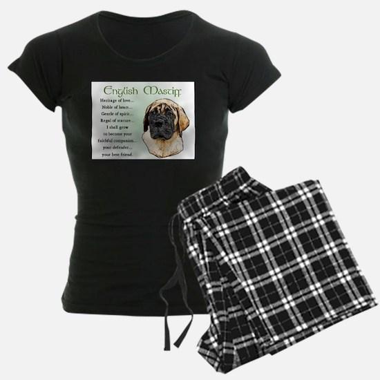 English Mastiff Pajamas