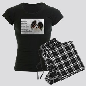 Papillon Gifts Women's Dark Pajamas
