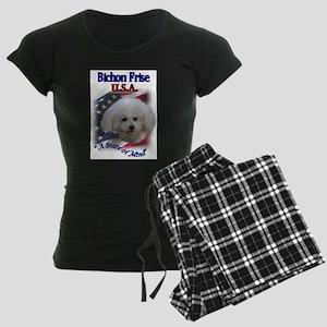 bichon usa Women's Dark Pajamas