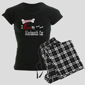 NB_Blackmouth Cur Women's Dark Pajamas