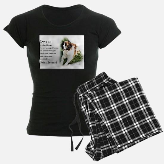 Saint Bernard Gifts Pajamas