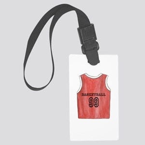 Basketball Jersey Large Luggage Tag