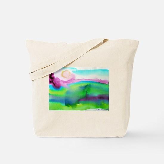 landscape, colorful art! Tote Bag
