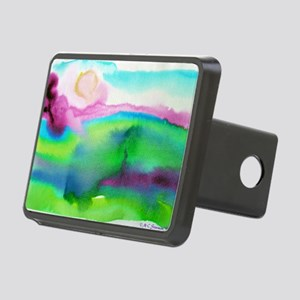 landscape, colorful art! Rectangular Hitch Cover