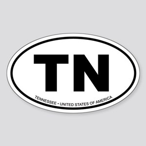 Tennessee Oval Sticker