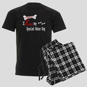 NB_Spanish Water Dog Men's Dark Pajamas